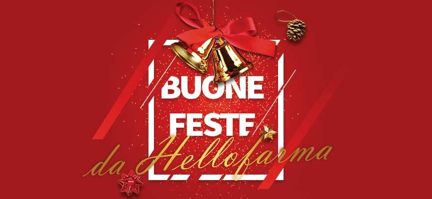 Vetrina promozione Hellofarma.it Buone Feste 2018