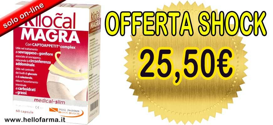 Vetrina promozione Hellofarma.it Kilocal Magra