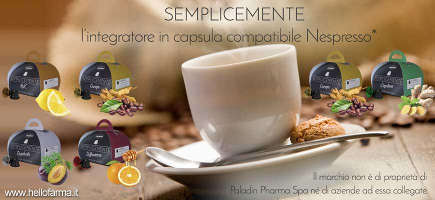 Vetrina promozione Hellofarma.it Semplicemente tisane in capsule